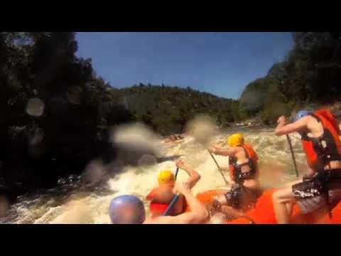 Rafting the Upper Klamath