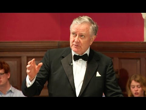 The U.S Two-Party System is Broken   Larry Pressler   Oxford Union