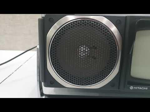 Đài Sưu Tầm Hitachi Mark 5. Cassette Radio Tivi. LH 0909480084