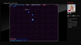 Arcade Archives LIFE FORCE  (PS4) One Credit Game Sample
