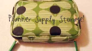 Planner Supply Storage for