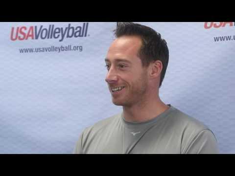 David Lee visits with VolleyballMag.com