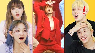 Korean Dancers Shocked by EXO Kai's Legendary Fancam