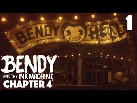 Bendy And The Ink Machine: Chapter 4 | Time To Save Borris!! | Part 1
