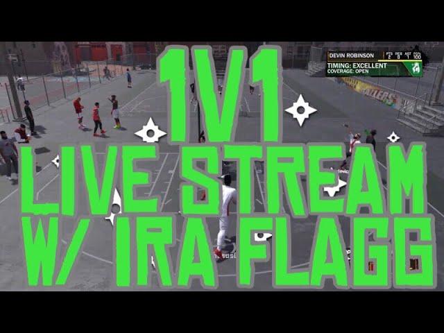 1v1 2k18 w/ Ira Flagg
