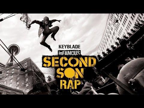 INFAMOUS SECOND SON RAP - El Artista de Humo | Keyblade | Instrumental |