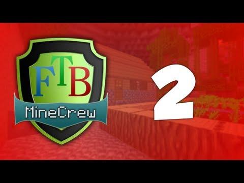 MineCrew FTB - E2 - Lily Hole? w/ Groax
