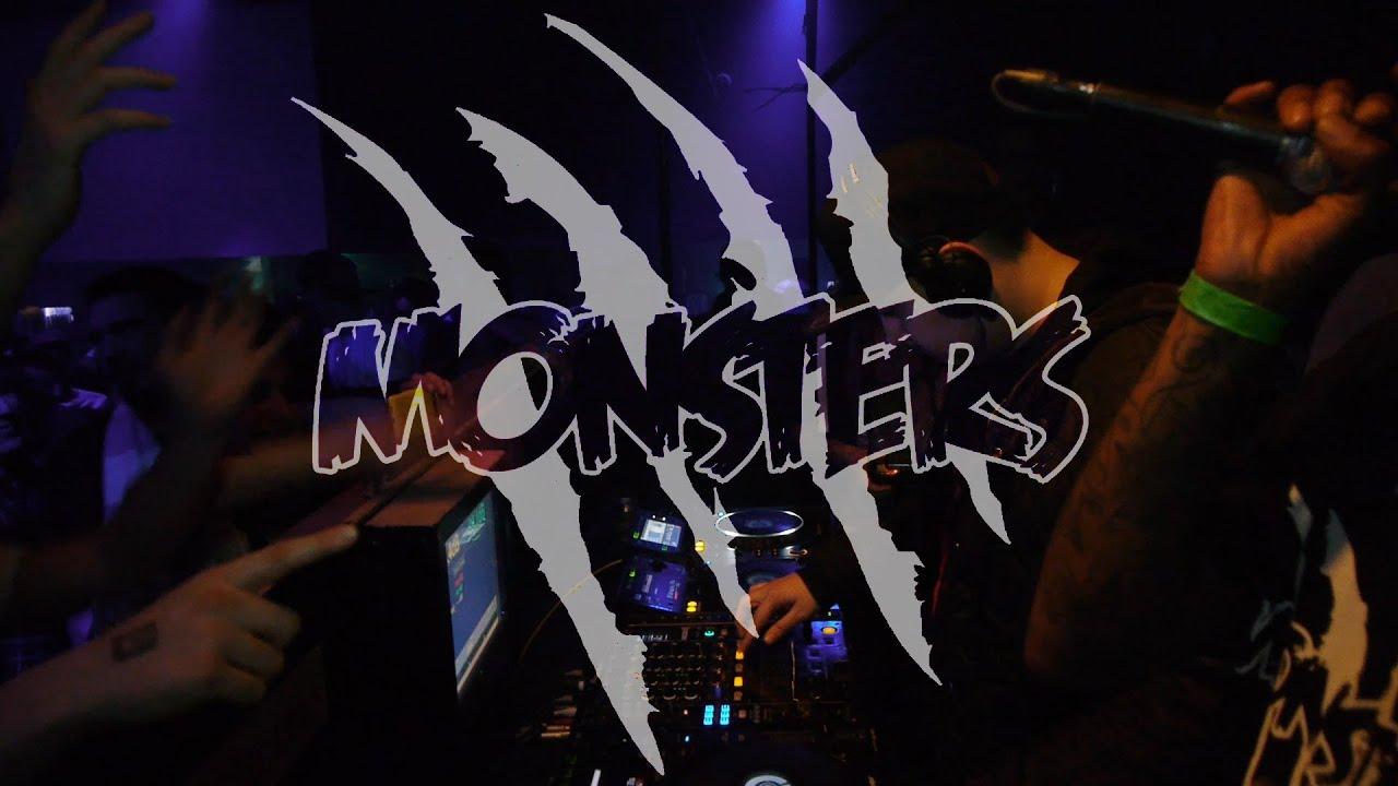 AD + AKIRA + OBEY @ QUAKE INVITES MONSTERS PART 2 - YouTube Quake Monsters