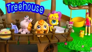 LPS Treehouse Littlest Pet Shop Bobblehead Squinkies Doll - Play Cookieswirlc Video