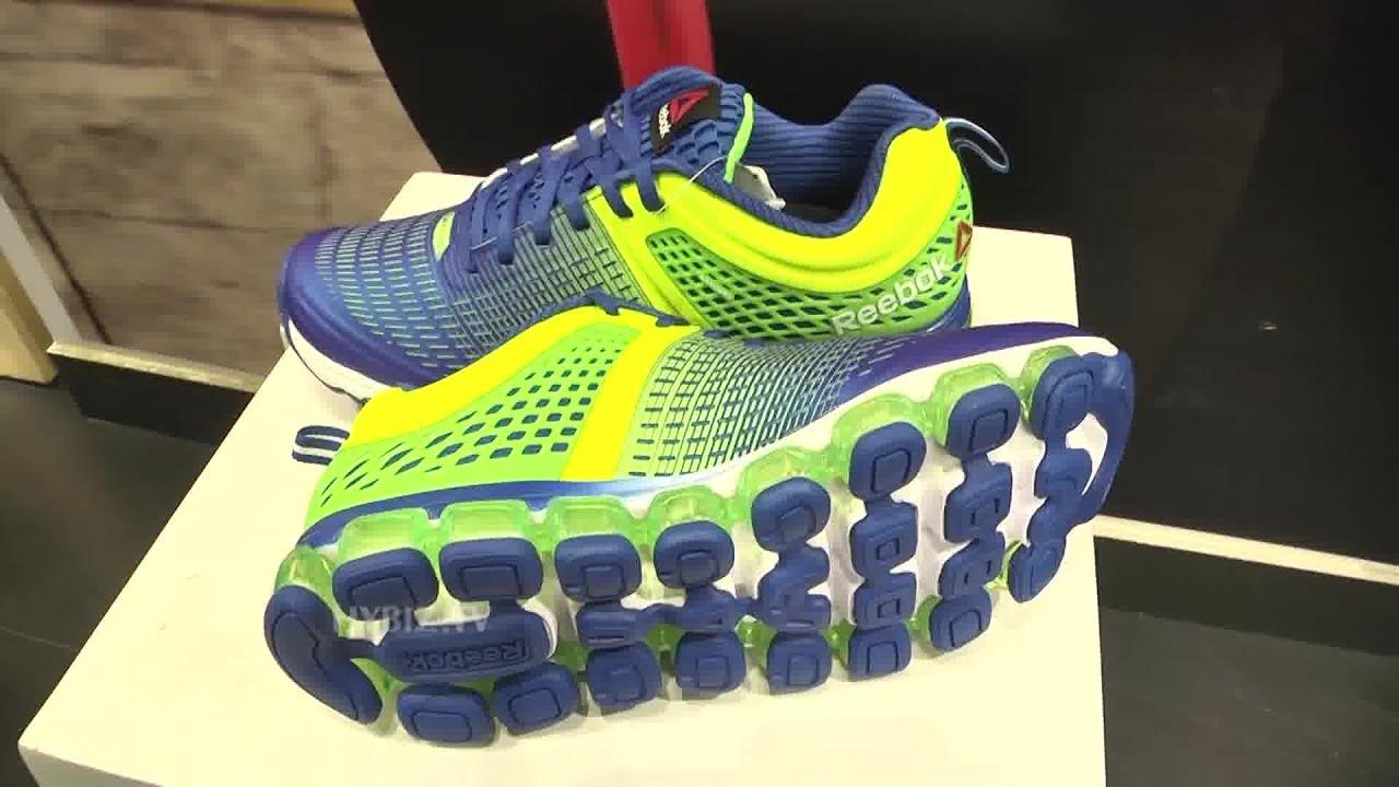 best loved 97207 93ce2 ... Reebok Jetfuse Run Black Shoes At Reebok Store Jubilee Hills - Hybiz.tv  - YouTube ...