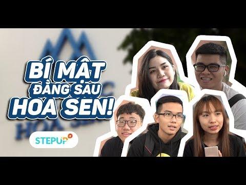 Bí mật đằng sau ĐH Hoa Sen?!? | Student Life | Step Up English