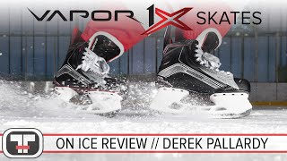 Bauer Vapor 1X Skates // On-Ice Review
