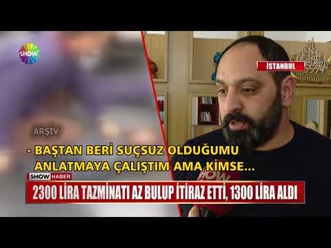 2300 Lira tazminatı az bulup itiraz etti, 1300 Lira aldı