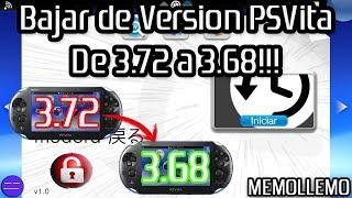 Downgrade PSVita de 3.72 a 3.68