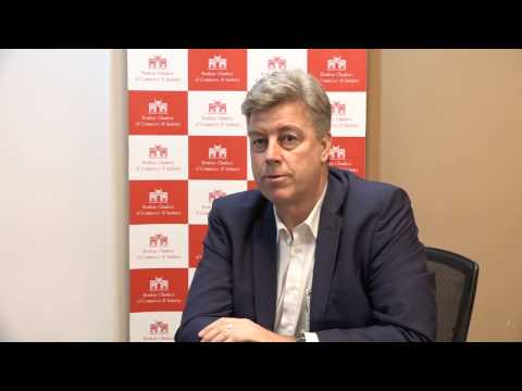 Volker Friedrich(MD GBP International) talks about his collaboration with Bombay Chamber Of Commerce