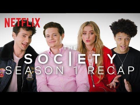 The Society Cast Recaps Season 1 | *Lots of Spoilers* | Netflix