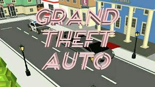 Simple sandbox Theft Auto