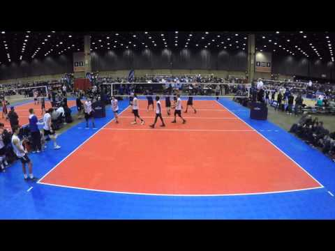 Indy Assault 17-1s Vs. Club 1 17s set 1
