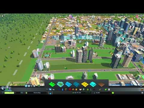 Cities Skylines - Surviving Mars Radio - Gameplay
