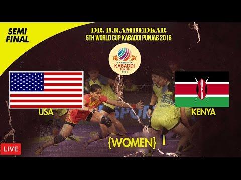 Dr. B. R. Ambedkar 6th World Cup Kabaddi Punjab 2016   16th Nov 2016 Semi Final