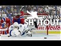 NHL 18 ROAD TO SHUTOUT #3 *THE END?*