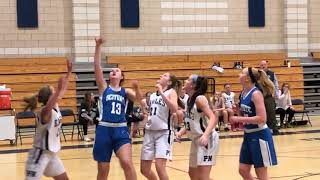 Plymouth North girls basketball vs. Scituate