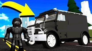 NOVA VAN SWAT! (Roblox Vehicle Simulator)
