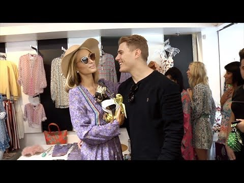 "Paris Hilton and Chris Zylka ""Nicky Hilton x Tolani"" Launch Celebration"