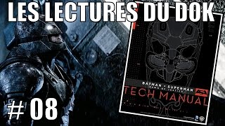 [ARTBOOK-LIVRE] Tech Manual - Batman V Superman