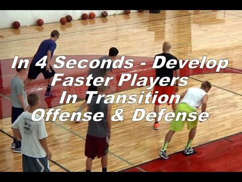 In 4 Seconds - Develop Faster Players In Transition Offense & Defense