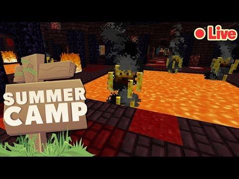 🔴 LIVE! Minecraft Summer Camp SMP