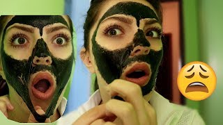 Painful Black Mask CHALLENGE !!!
