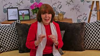 The Aches & Pains of Menopause Live Chat Promo - join me tomorrow at 3pm
