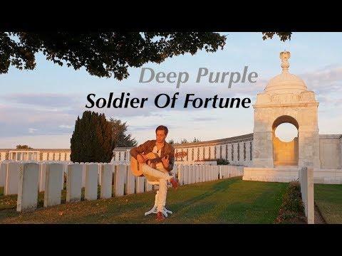 Soldier Of Fortune (Deep Purple) Acoustic - Classical Fingerstyle Guitar - Thomas Zwijsen