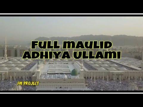 Full Maulid Adhiya Ullami ~ Majelis Ta'lim Dawaaul Quluub Jakarta from YouTube · Duration:  39 minutes 7 seconds