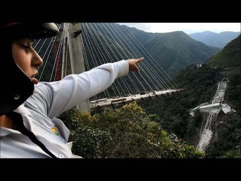 Queda de ponte mata dez operários na Colômbia