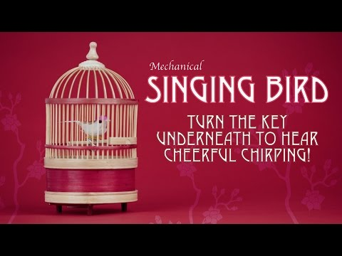 Mechanical Singing Bird from Tobar
