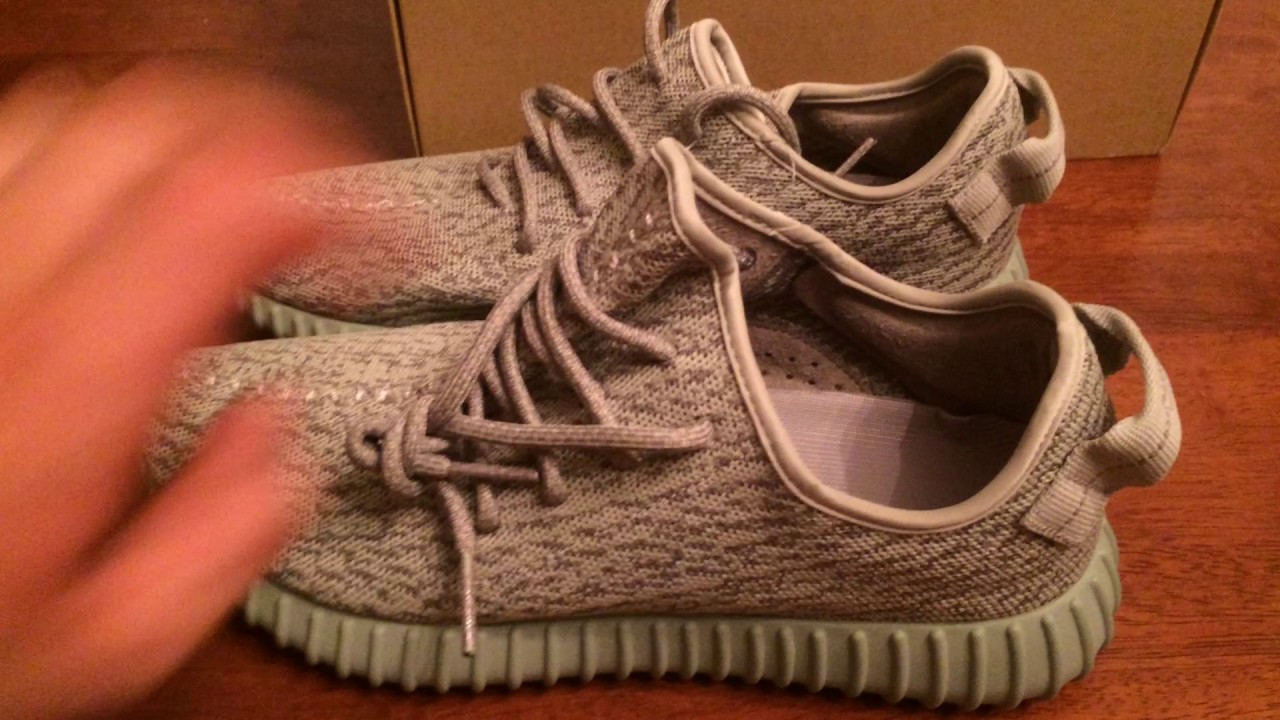 9abcd2f8d331 REVIEW  UA Yeezy 350 Boost Moon Rock from SneakerAheads.com - YouTube