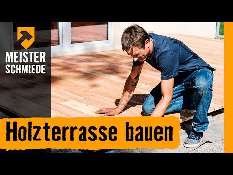 DIY Terrassenbau im Zeitraffer - 60 m2 Douglasie in Holland by ...