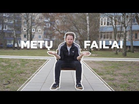 METŲ FAIL'AI