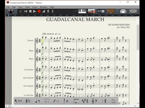 Guadalcanal March - Notion 5