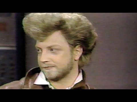 Chris Elliott on Letterman 1987