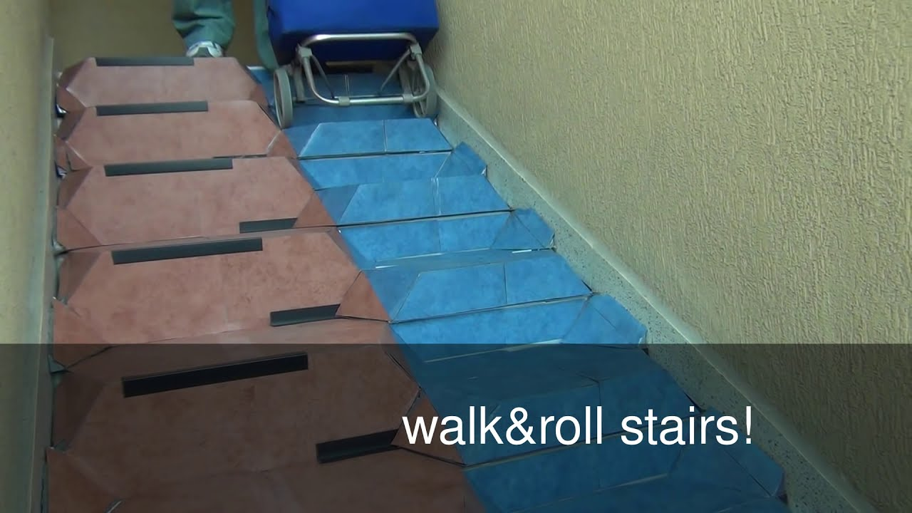 how to make stair climbing easier