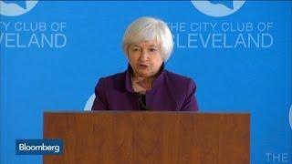 Yellen: Pace of U.S. Economic Growth Will Pick Up