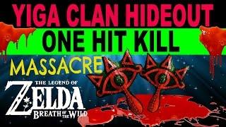 Zelda: Breath of the Wild - Yiga Clan ONE HIT KILL Massacre + Mighty Banana Farming thumbnail