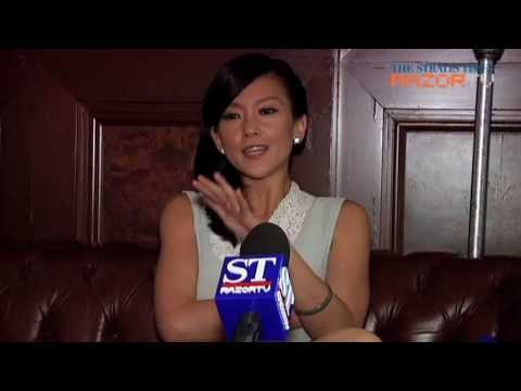 Pamelyn Chee no token Asian beauty on cable TV