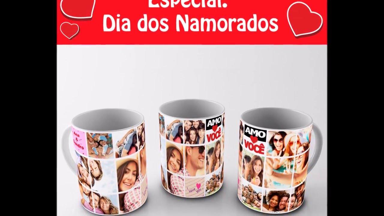 Canecas Personalizadas Dia Dos Namorados Lembrança Presente Bruna