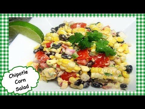Southwest Spicy Chipotle Corn and Black Bean Salad Salsa Recipe