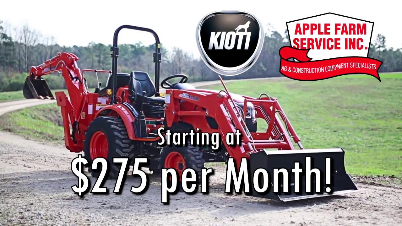 Kioti   Apple Farm Service Inc