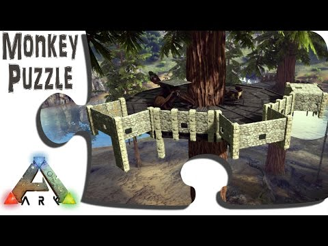 ARK: Advanced Building: The Redwood Tree Castle Begins   IronMine Vanilla  Survival PVE